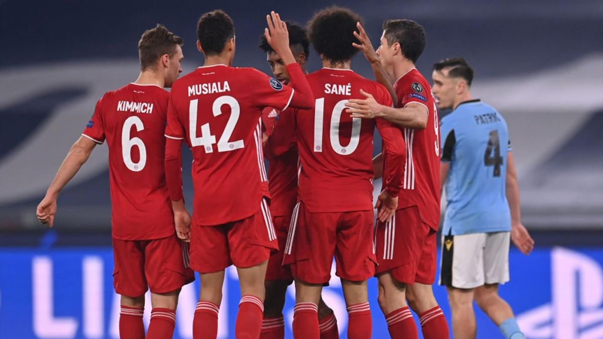Sané - Lazio-Bayern Monaco - Champions League 2020/2021 - Getty Images