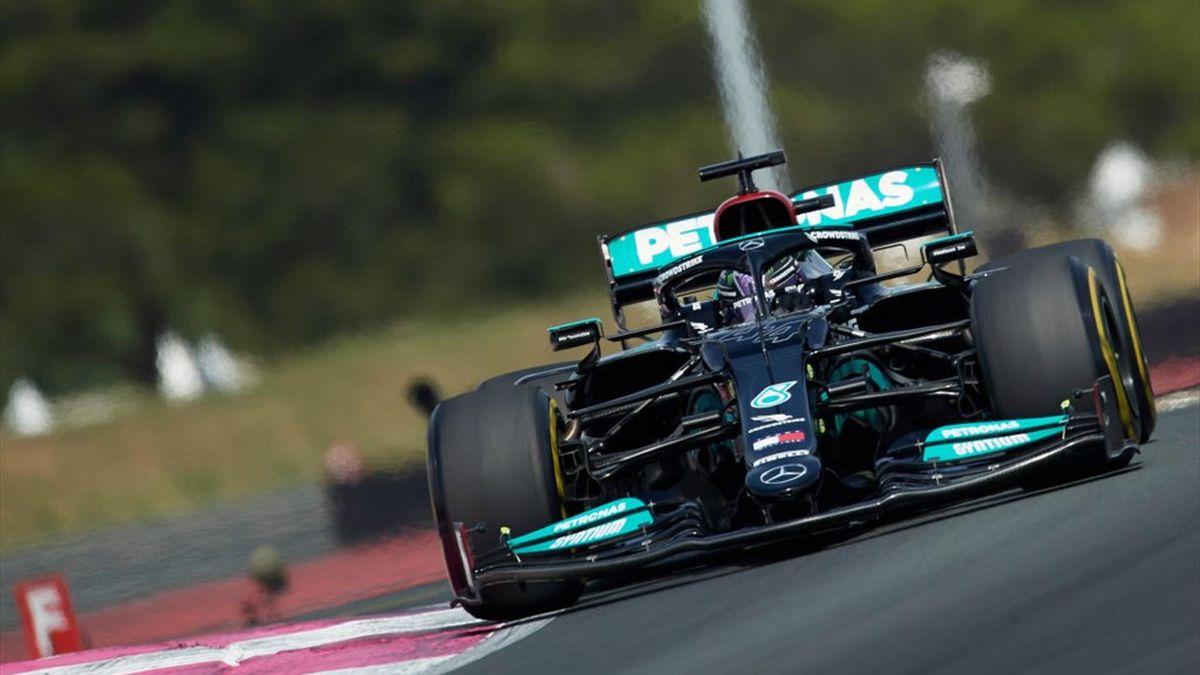 Lewis Hamilton durante le prove libere del GP di Francia 2021 di Formula 1