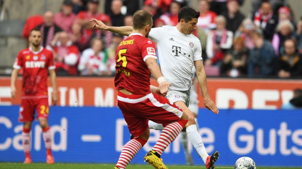 Robert Lewandowski | FC Bayern - 1. FC Köln