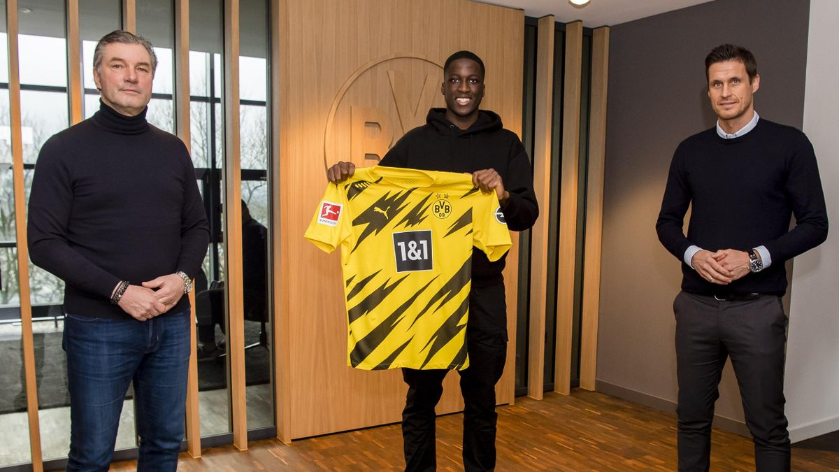 Borussia Dortmund: Soumaila Coulibaly mit Michael Zorch und Sebastian Kehl