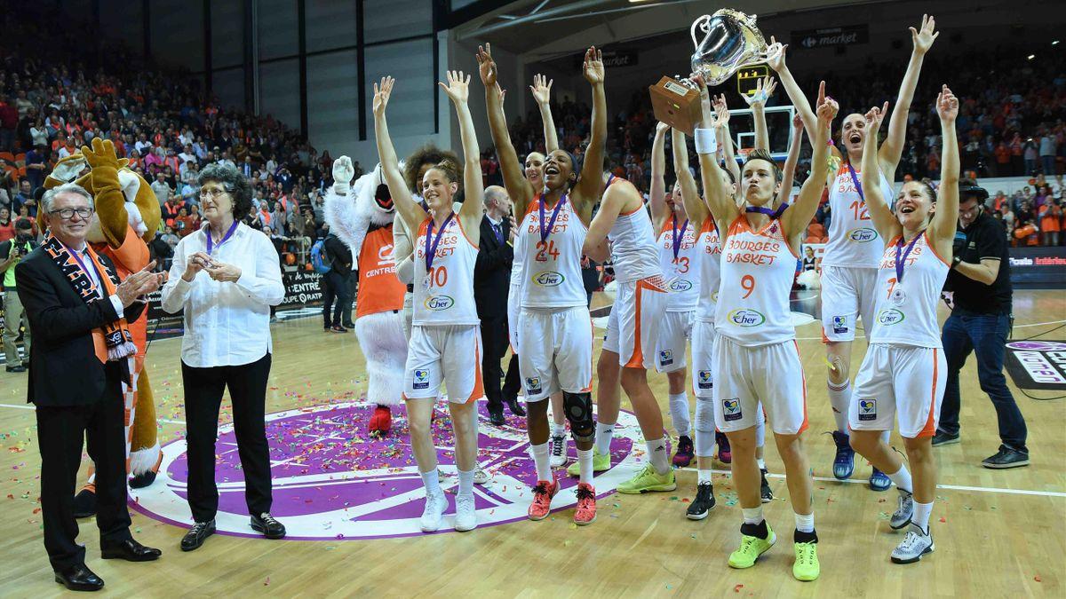 Bourges remporte l'Eurocup 2016