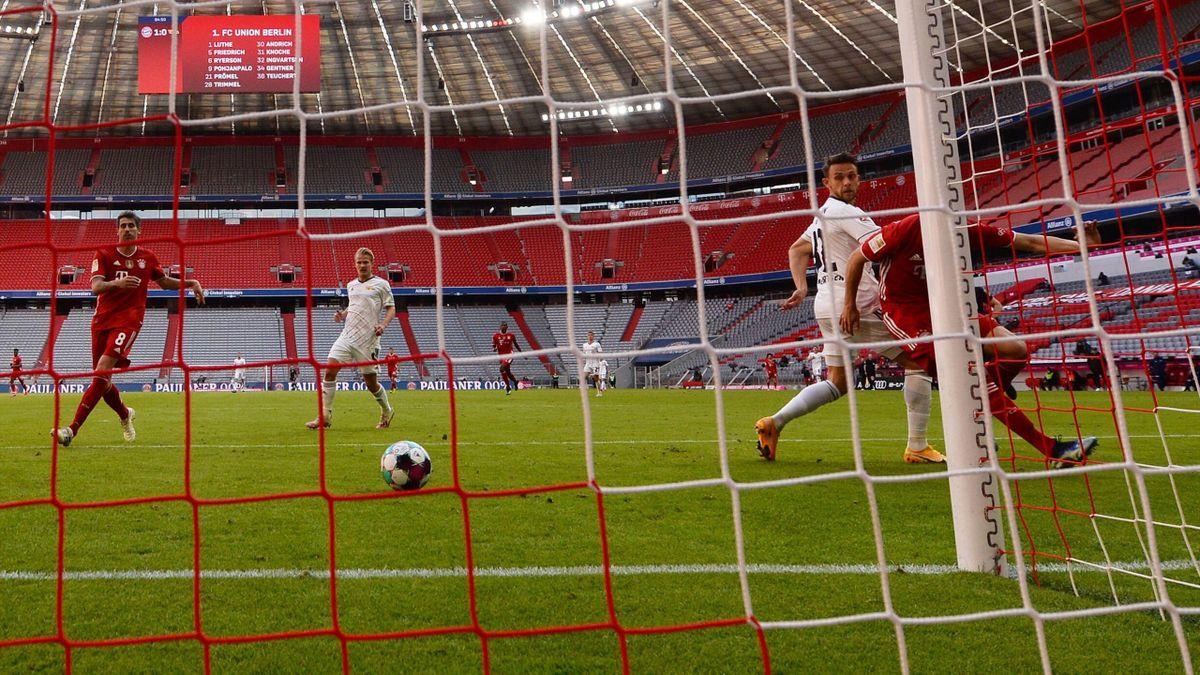 Union-Profi Ingvartsen gleicht aus gegen die Bayern