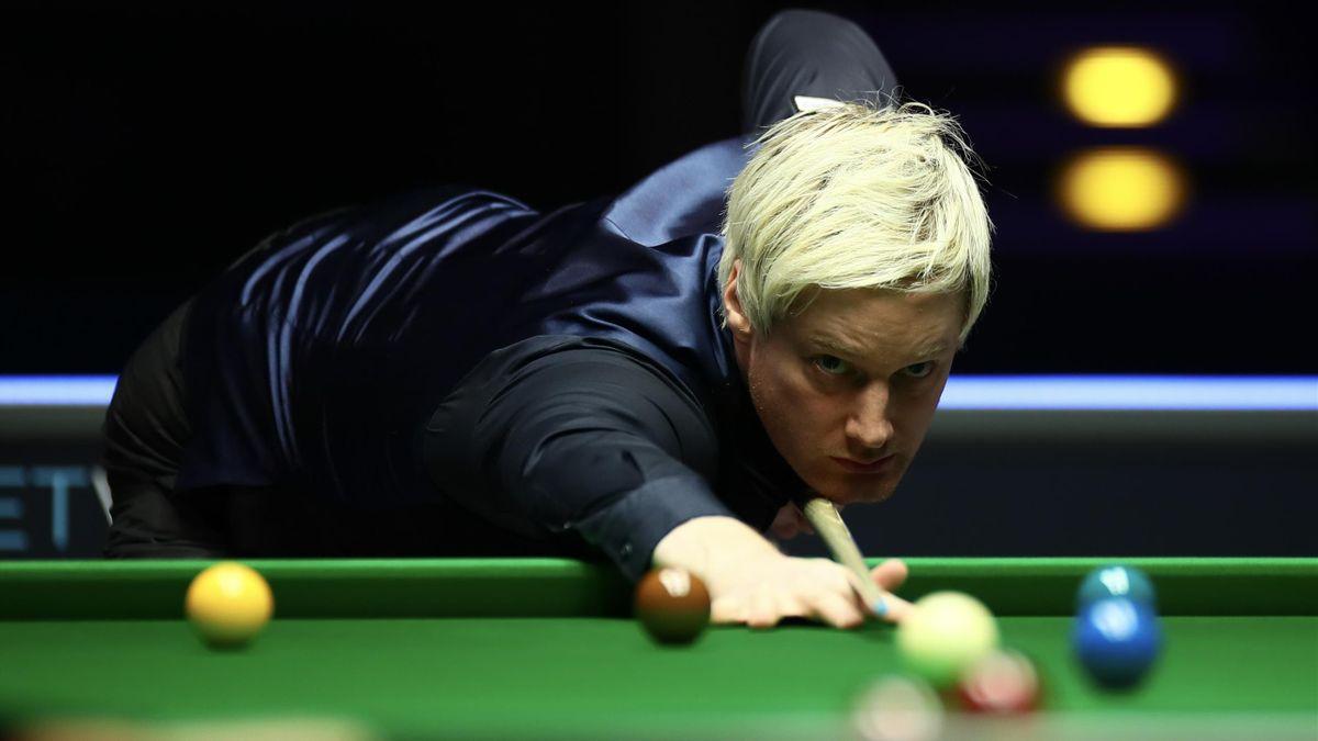 Neil Robertson steht beim English Open im Finale