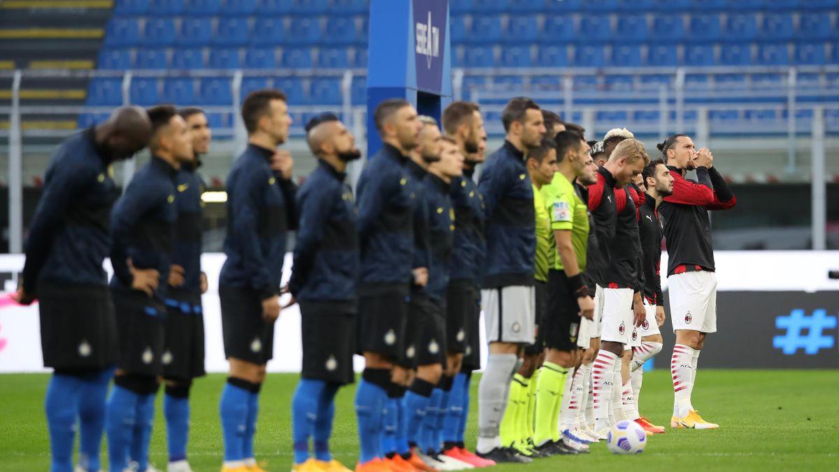 Le derby entre l'Inter et Milan (Serie A)