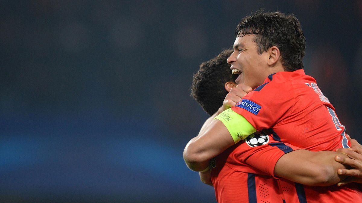Thiago Silva, heureux comme un gosse