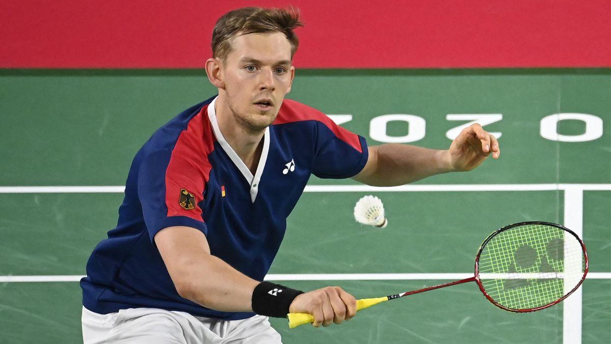 Mark Lamsfuß spielt zum ersten Mal bei den Olympischen Spielen.