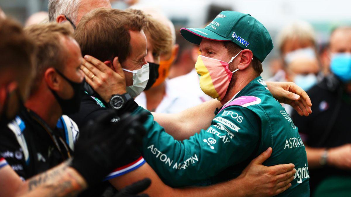 Sebastian Vettel fuhr in Ungarn wie bereits in Aserbaidschan auf das Podium