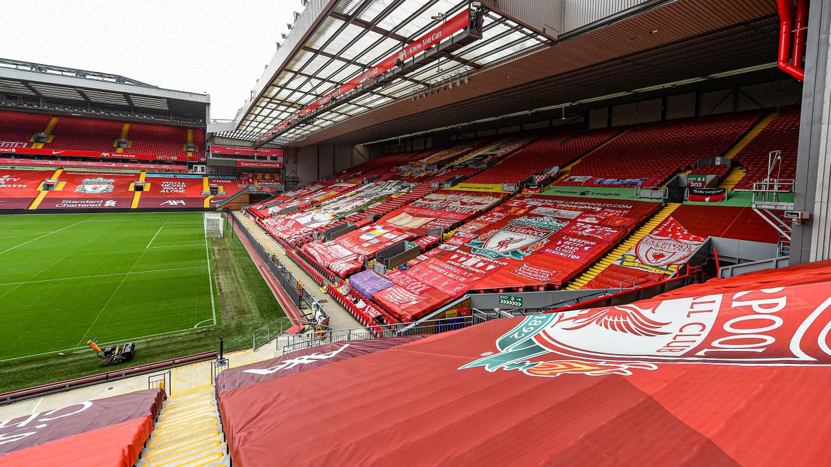 A general view of Anfield, home of Liverpool