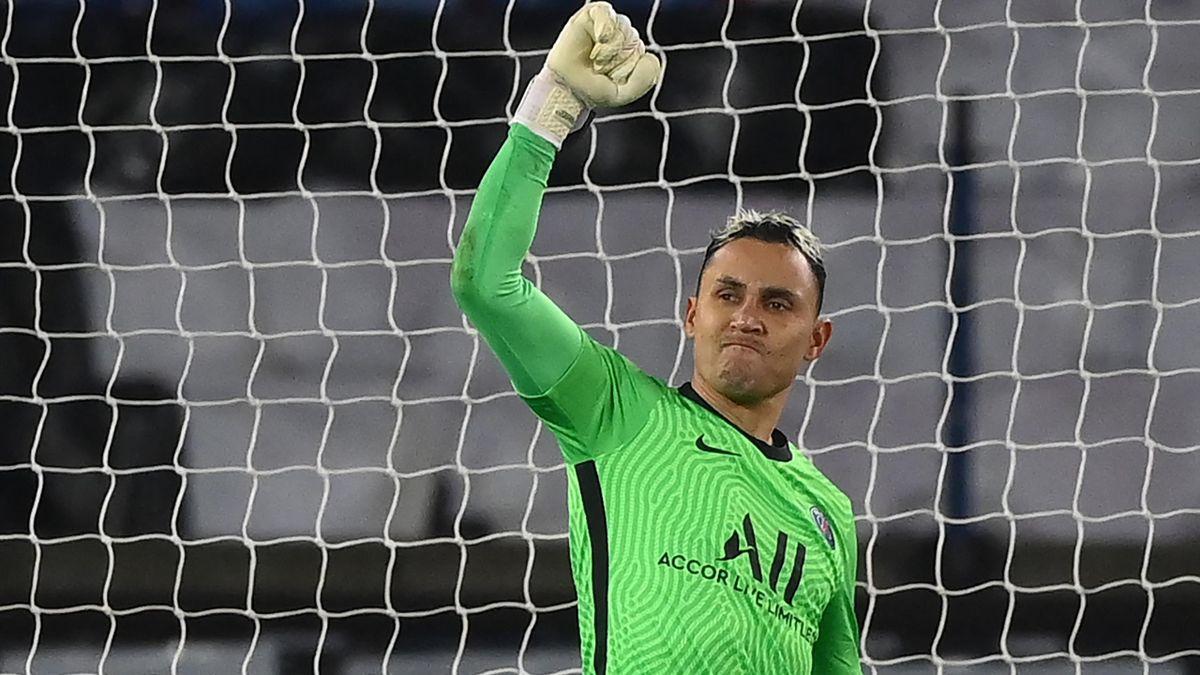 Keylor Navas (PSG), homme du match face au Barça