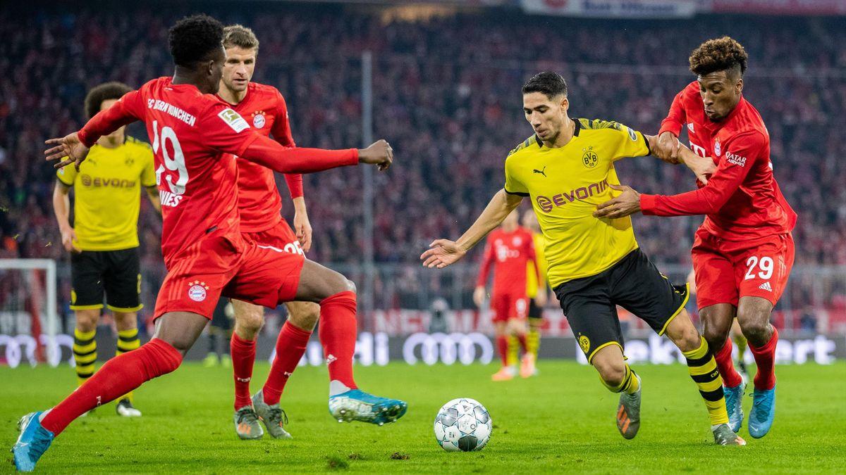 Achraf Hakimi von Borussia Dortmund zum FC Bayern?
