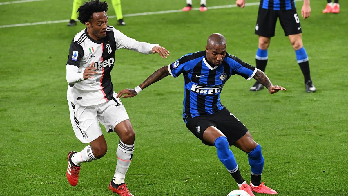 Cuadrado, Young - Juventus-Inter - Serie A 2019/2020 - Getty Images