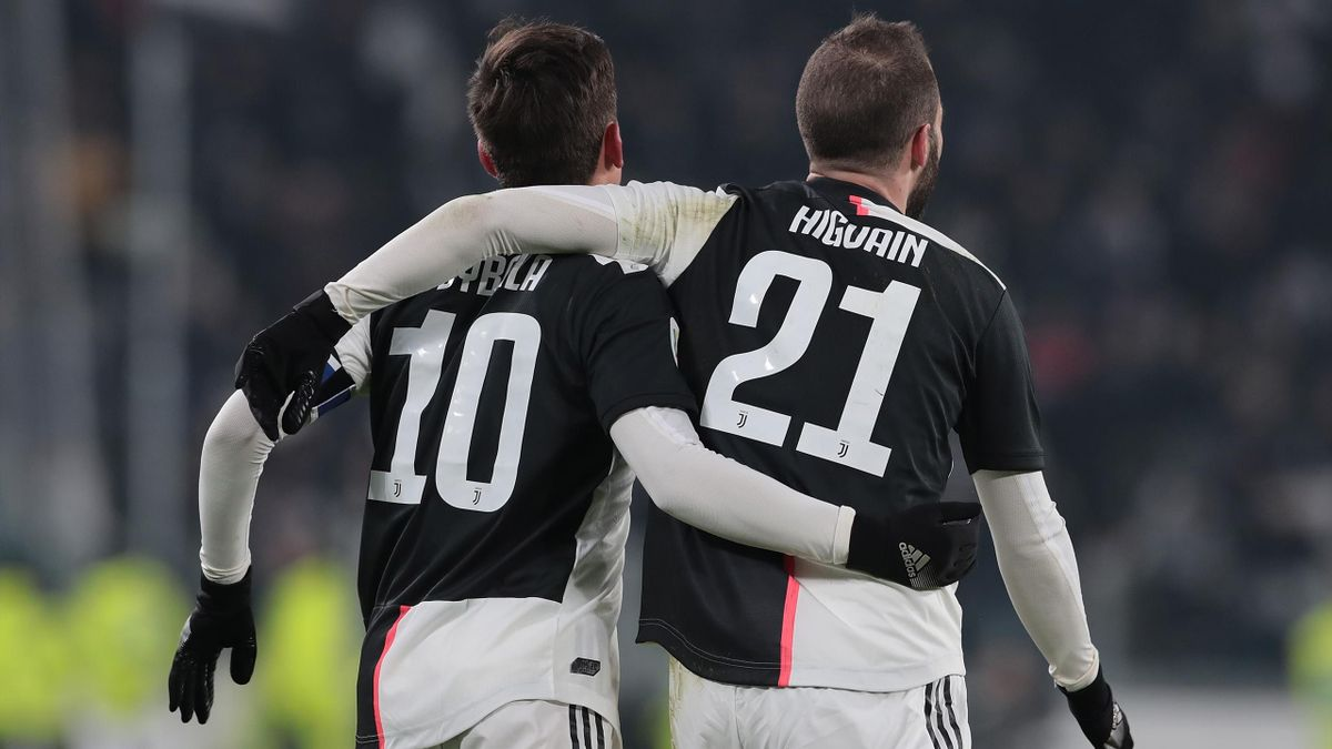 Higuain, Dybala - Juventus-Udinese - Serie A 2019/2020 - Getty Images