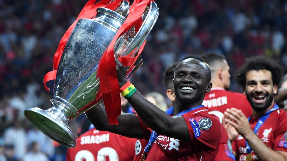 Sadio Mané, sacré champion d'Europe avec Liverpool