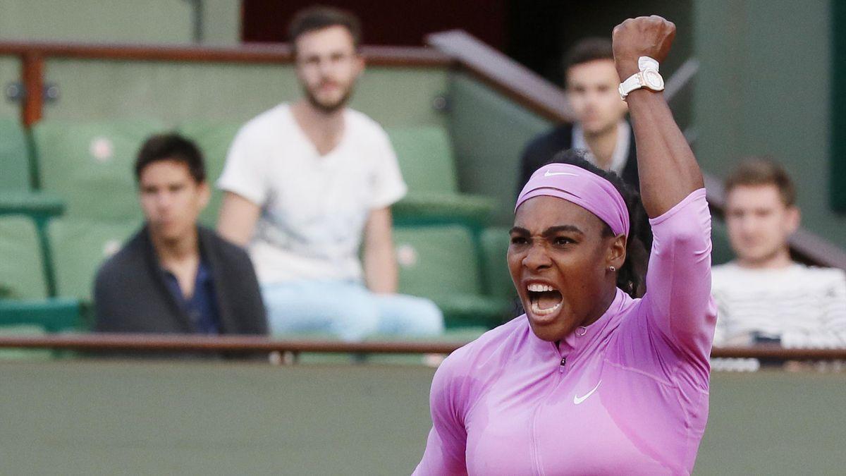 Serena Williams hurle sa rage