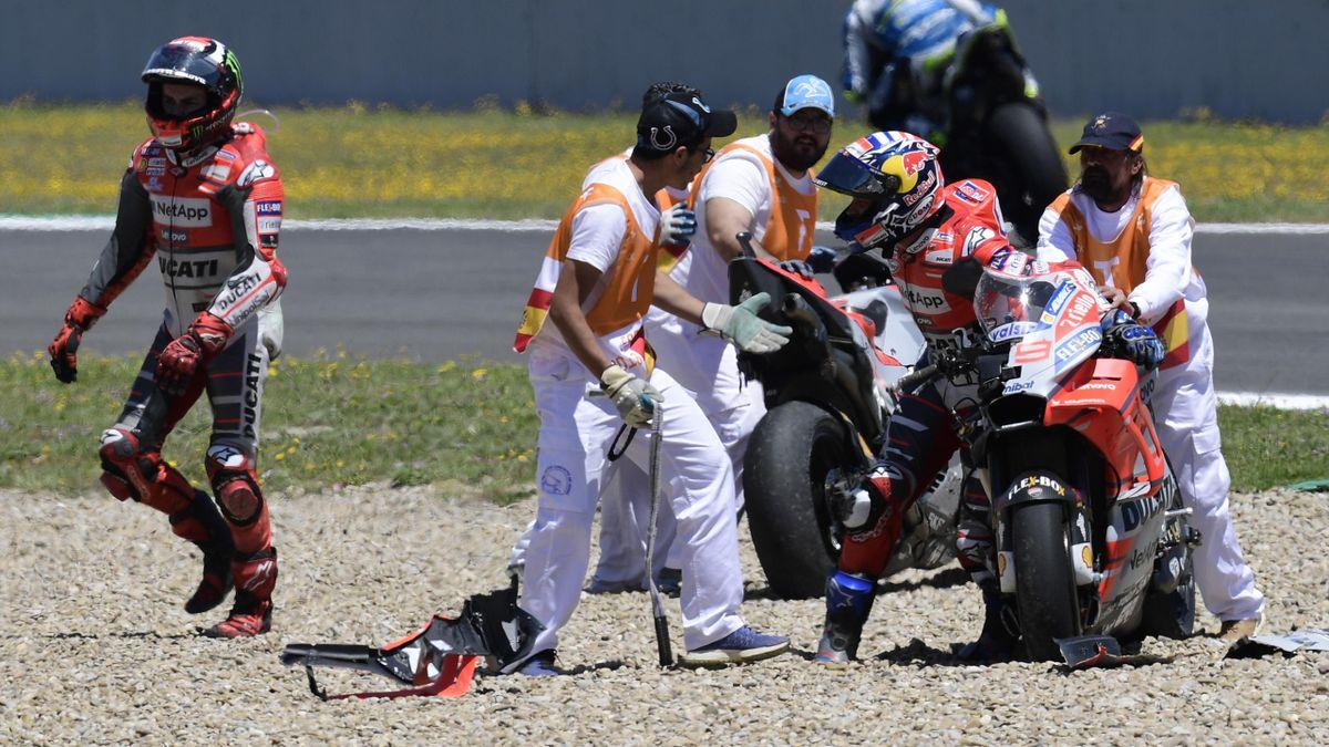 Andrea Dovizioso, Jorge Lorenzo, GP Jerez, Getty Images