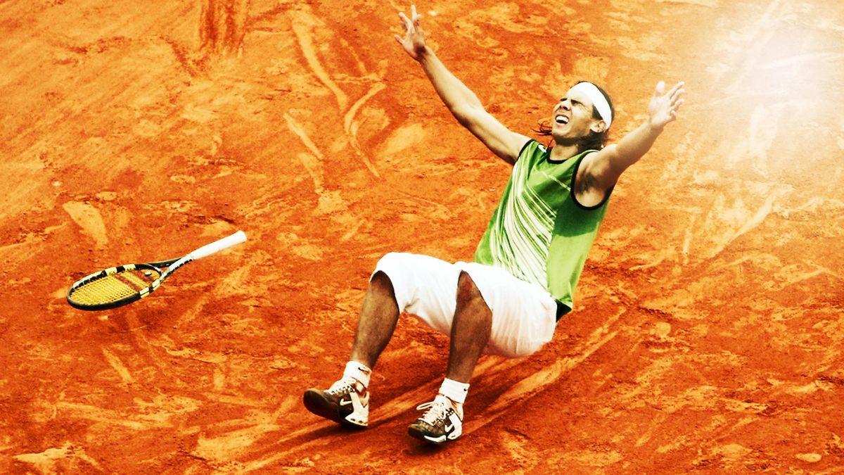 Rafael Nadal câștiga, pe 5 iunie 2005, primul din cele 19 turnee de Grand Slam din carieră