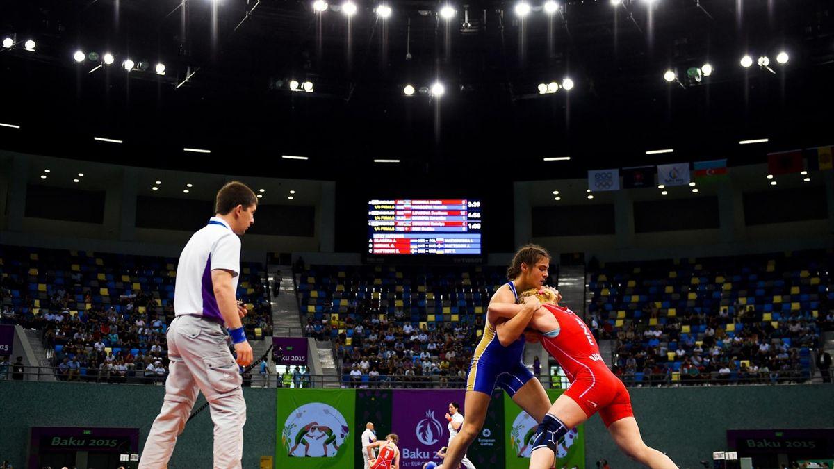 Bakü 2015 Avrupa Oyunları - Kadınlar serbest stil güreş