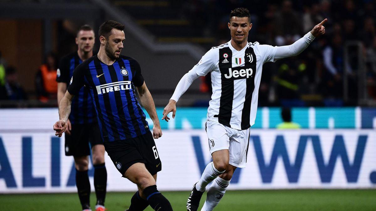 Stefan De Vrij, Cristiano Ronaldo, Inter-Juventus, Serie A, Getty Images