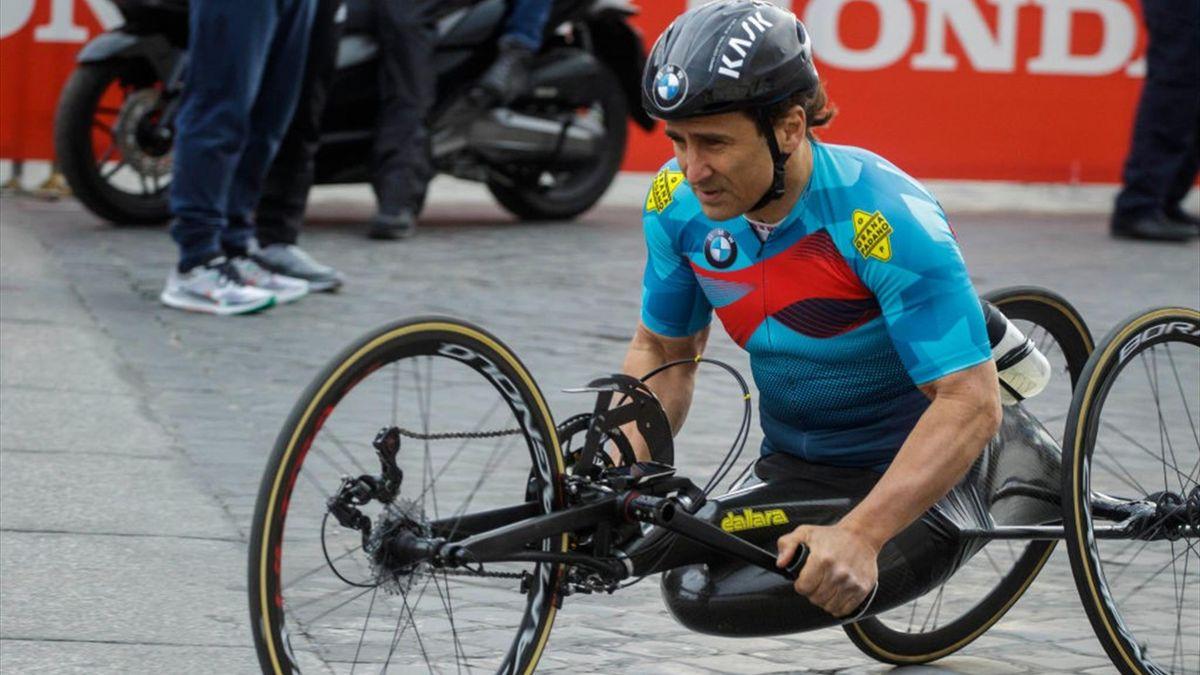 Alessandro Zanardi auf dem Handbike