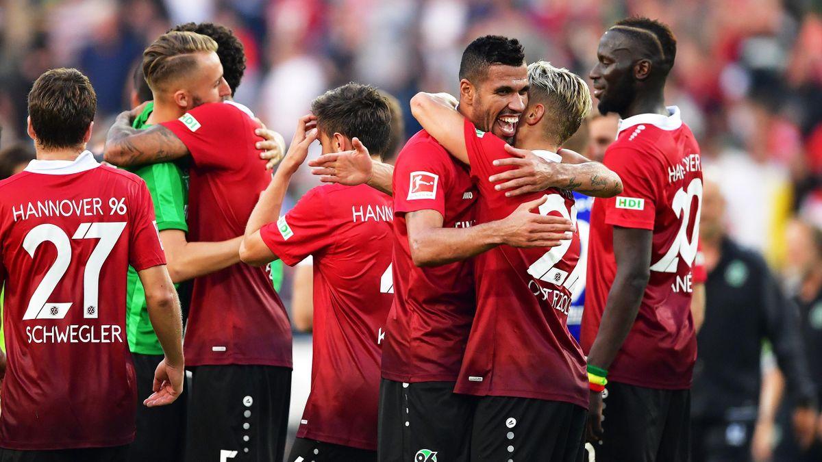 Hannover 96 legte einen Traumstart in der Bundesliga hin