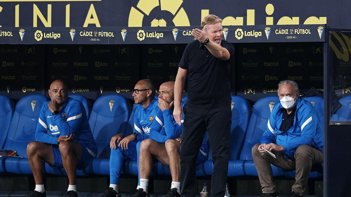 Barcelona-Coach Ronald Koeman wurde für zwei Spiele gesperrt
