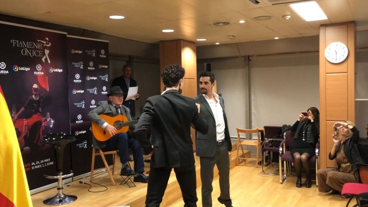 Javier Fernández, presentando espectáculo 'Flamenco on Ice'