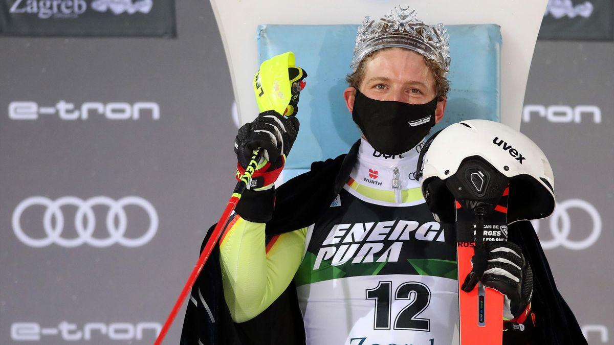 Linus Straßer gewinnt in Zagreb erstmals in seiner Laufbahn im Slalom