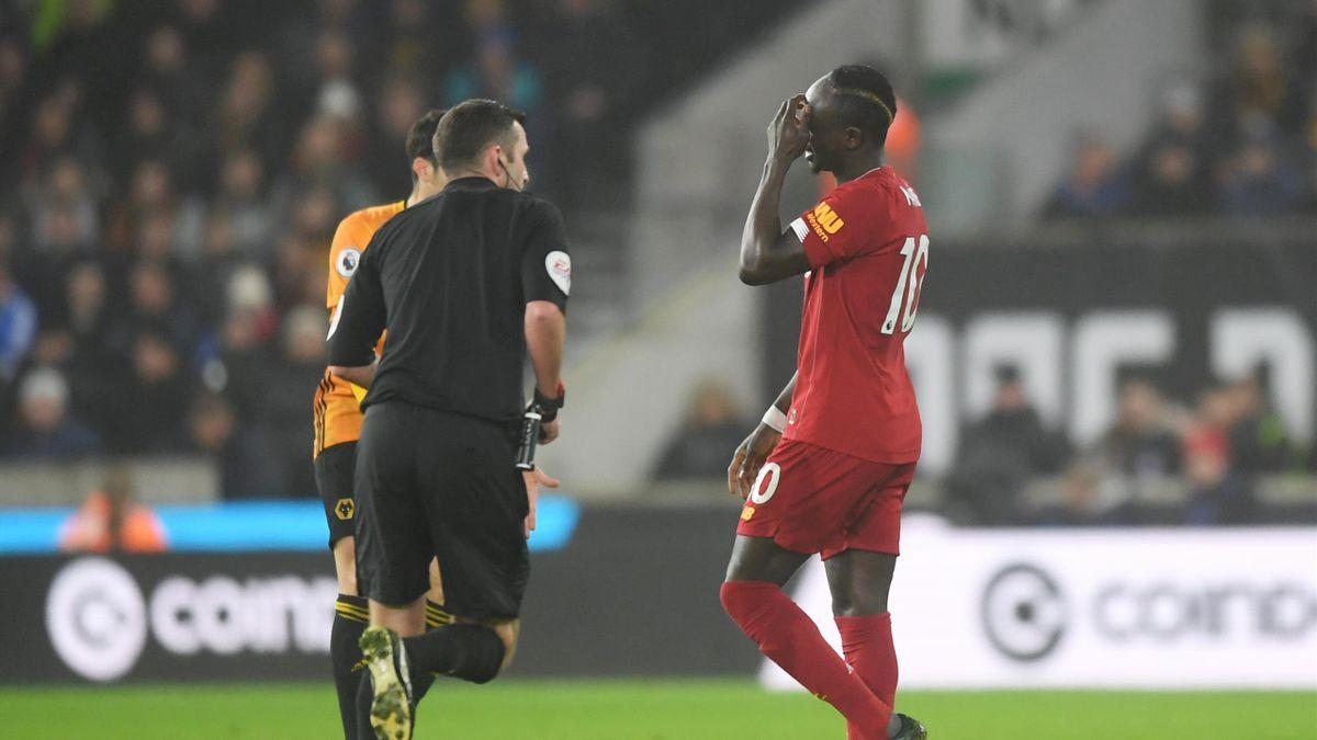 Sadio Mané sort sur blessure lors de Wolverhampton-Liverpool / Premier League