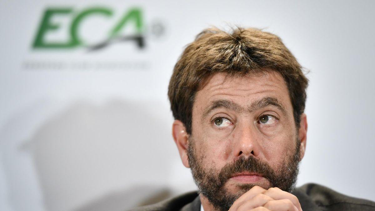 Andrea Agnelli, presidente dell'Eca