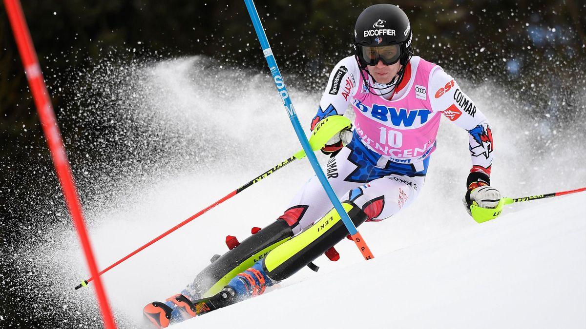 Clément Noël - Slalom Wengen 2019