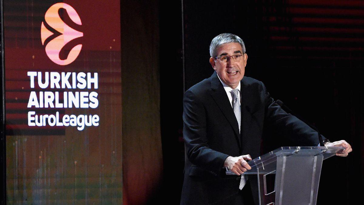 Jordi Bertomeu, CEO Euroleague, Getty Images