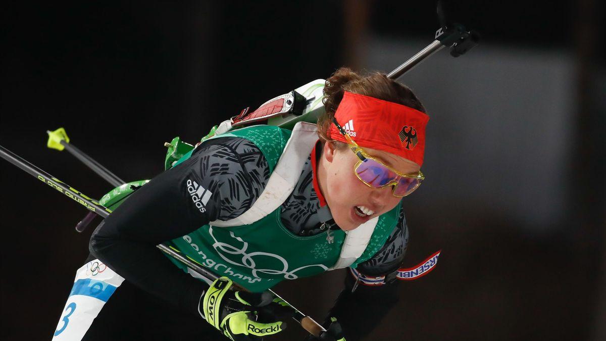 Biathlon bei Olympia 2018: Laura Dahlmeier