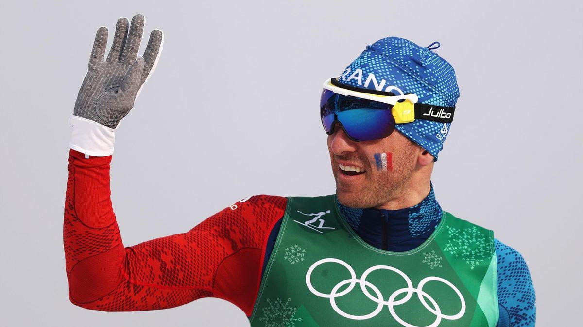 Maurice Manificat lors du relais des JO 2018