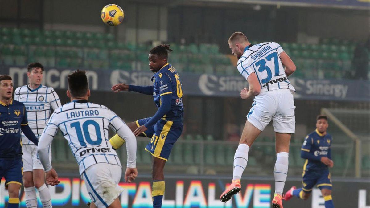 Skriniar - Hellas Verona-Inter - Serie A 2020/2021 - Getty Images