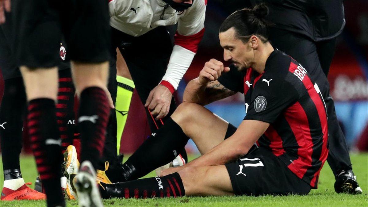 Zlatan Ibrahimovic - Napoli-Milan - Serie A 2020/2021 - Getty Images