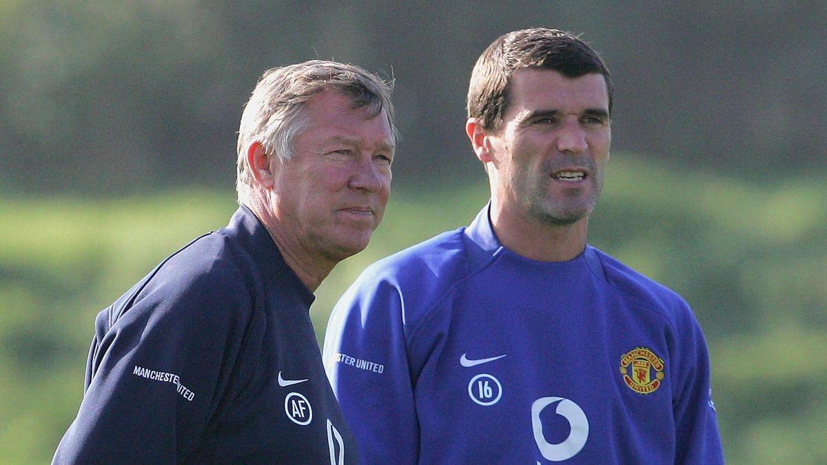 Sir Alex Ferguson, Roy Keane