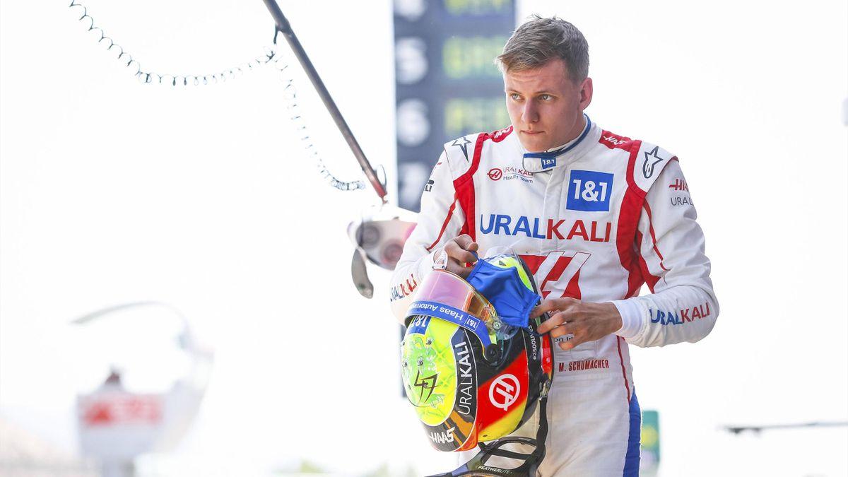 Haas-Pilot Mick Schumacher in Barcelona