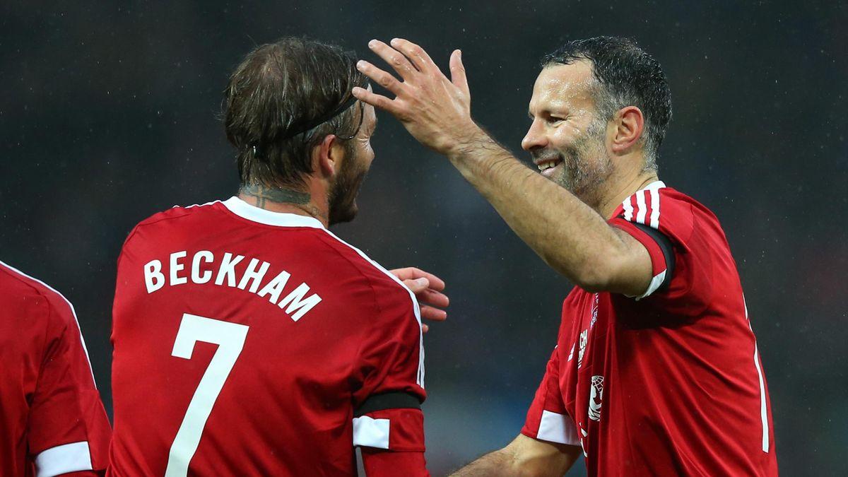 David Beckham și Ryan Giggs