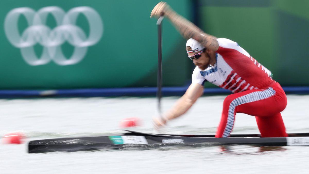Le céiste français Adrien Bart a terminé 4e de la finale de C1 1 000 m à Tokyo