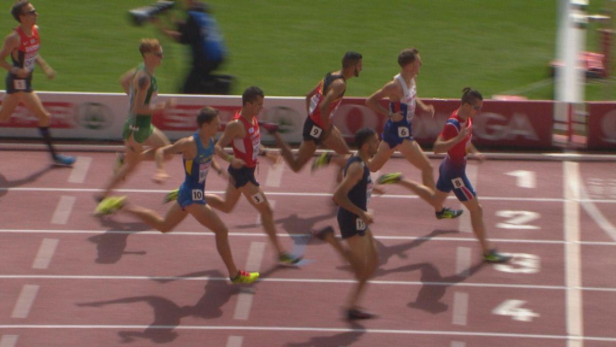 0815 Athletics ECH: 1500m Heat 1