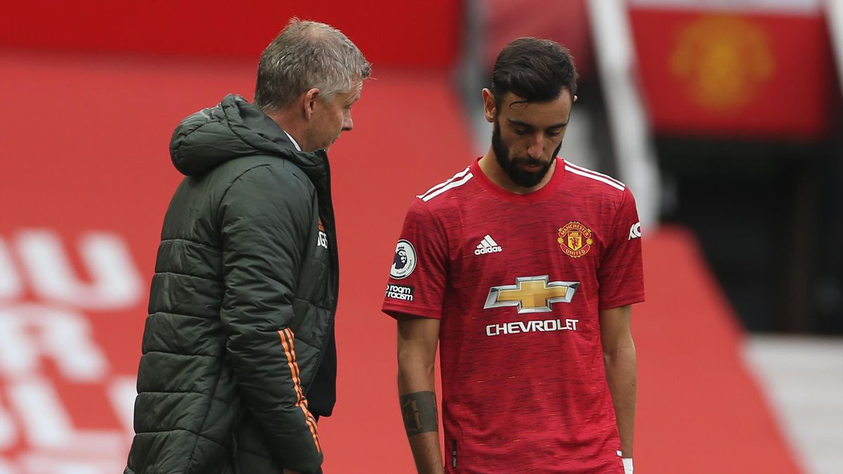 Bruno Fernandes: Manchester United star denies dressing room 'argument'  with Ole Gunnar Solskjaer - Eurosport