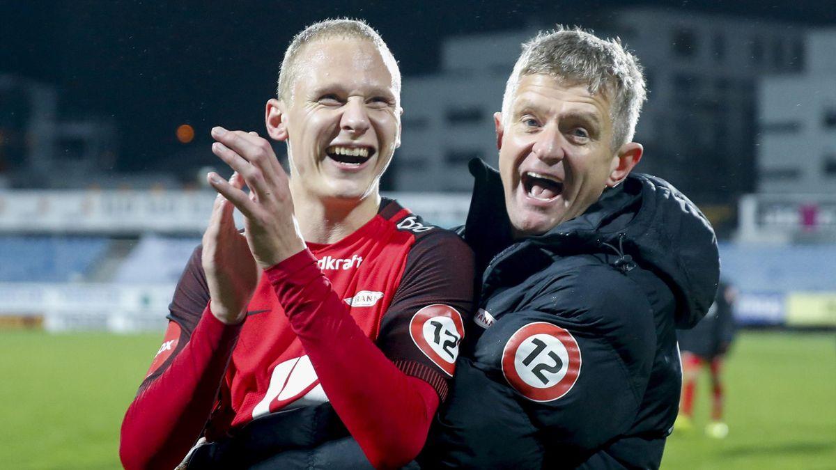 Kristoffer Barmen og Lars Arne Nilsen