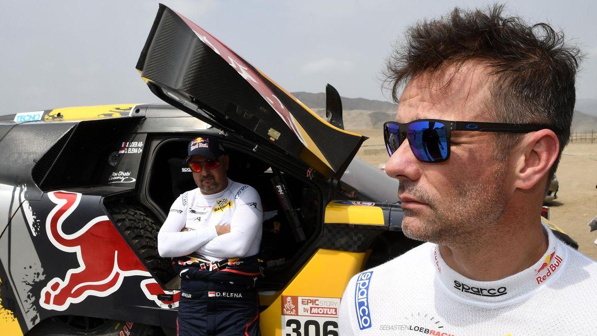 Le pilote français Sébastien Loeb se prépare à vivre son 4e Dakar.