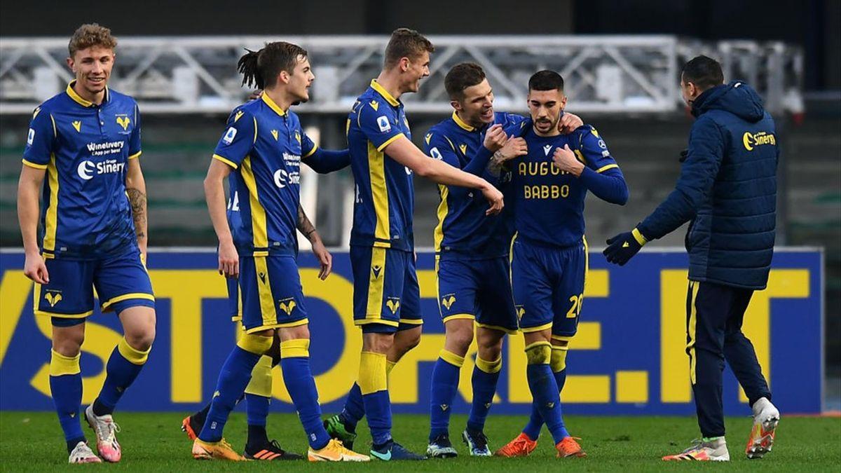 Zaccagni - Hellas Verona-Napoli - Serie A 2020/2021 - Getty Images