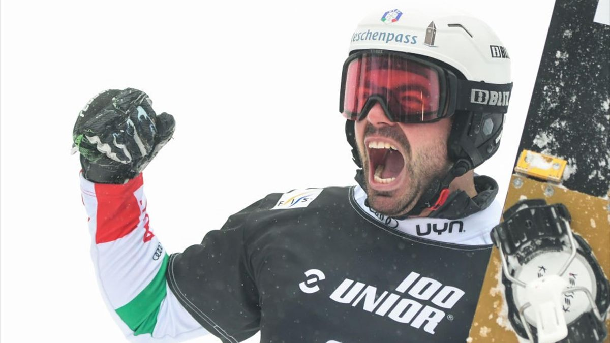 Edwin Coratti - Rogla, Slovenia 2021 - PSL snowboard - Getty Images