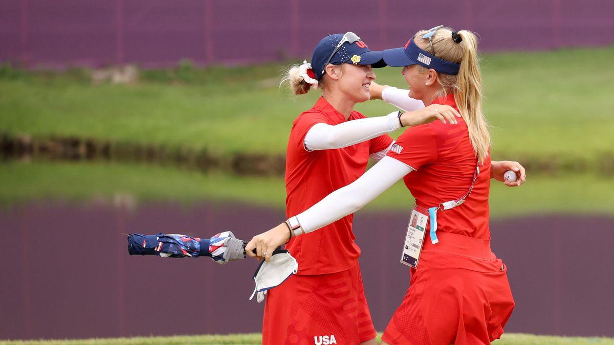 'Good luck keeping up...!' – Korda wins golf gold for USA