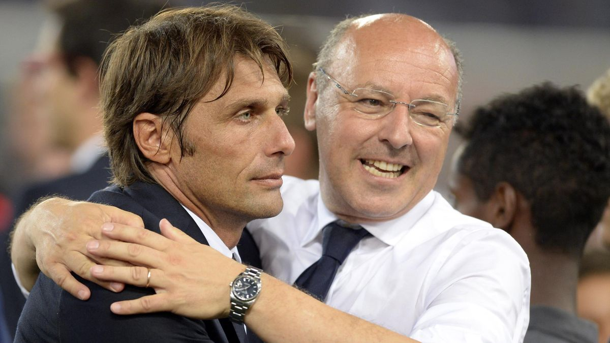 Antonio Conte, Beppe Marotta, Getty Images