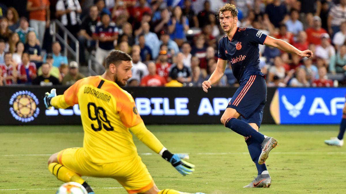 Goretzka batte Donnarumma, Bayern-Milan, Getty Images