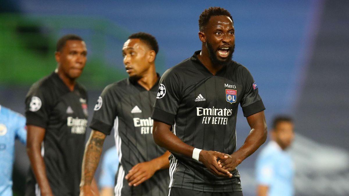 Moussa Dembele von Olympique Lyon