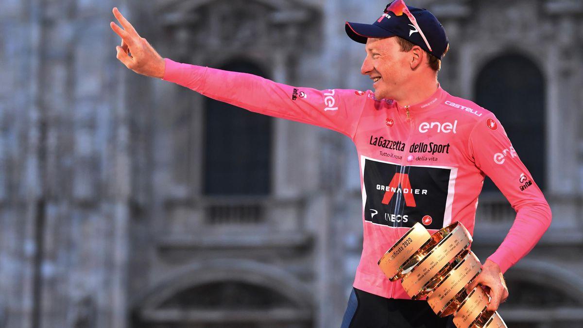 Tao Geoghegan Hart, winner of the 2021 Giro d'Italia